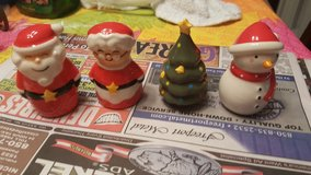 Christmas salt amd pepper shakers in Eglin AFB, Florida