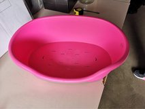small pink dog bed in Lakenheath, UK