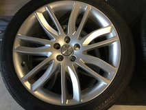 Jaguar Wheels and Continental tires new in Vacaville, California