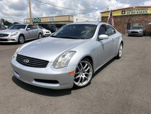 2007 INFINITI G G35 COUPE 2D 6-Cyl 3.5 Liter in Fort Campbell, Kentucky