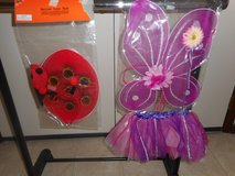 Butterfly wings and tutu AND Instant Ladybug: headband and wings in Lockport, Illinois