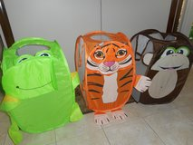 Set of 3 foldable bags in Lockport, Illinois