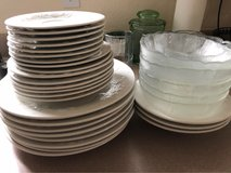 Glass/Porcelain Plates, Bowls, Cups in Oceanside, California