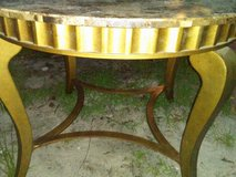 Fuax marble table w/ 4 chairs in Beaufort, South Carolina