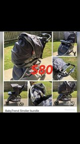 stroller, car seat w/base bundle in Clarksville, Tennessee