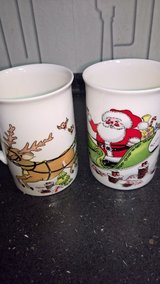 Christmas Wish Cups Santa & Reindeer in Ramstein, Germany