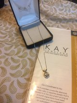 10k White Gold Necklace and Pendant in Fort Knox, Kentucky