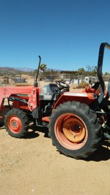 operated tractor for hire in Yucca Valley, California