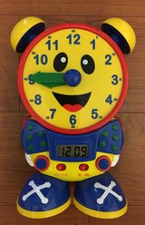 Telly The Teaching Time Clock in Clarksville, Tennessee
