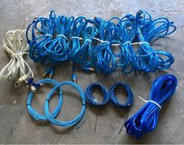 assorted Stinger brand rca patch cords in Fort Leonard Wood, Missouri