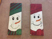 Christmas/Holiday Decorations Snowman Wooden in Fort Leonard Wood, Missouri
