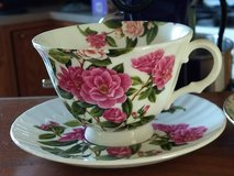 Beautiful Floral Tea Cup & Saucer in Chicago, Illinois