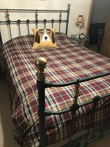 Queen Iron Bed in Tinley Park, Illinois