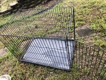 Large dog cage in Fort Campbell, Kentucky