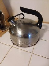Tea kettle in Fort Drum, New York
