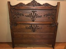 Antique Oak Bed in Orland Park, Illinois
