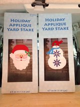 Holiday Applique Yard Stakes - Set of 2 in Ramstein, Germany