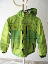 lime green snow boarding jacket size L (youth 12) in Stuttgart, GE