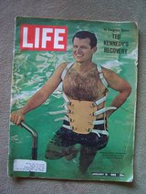 1965 LIFE Magazine (Feature Article: Ted Kennedy) in Mannheim, GE