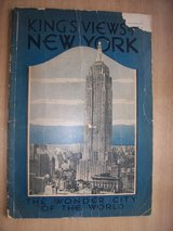 1937 Book: King's Views of New York, The Wonder City of the World in Mannheim, GE