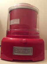 Cuisinart ice cream maker in Kingwood, Texas