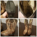 BOYS SIZE 10 COWBOY BOOTS in Perry, Georgia