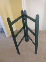 Foldable quilt rack, painted wood in Alamogordo, New Mexico
