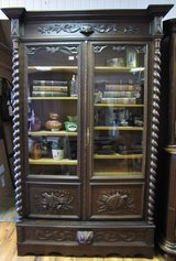 Bookcase  Style Louise XIII early 1900 in Ramstein, Germany