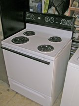 Stove-Range-30 inch white- Clean stove in Macon, Georgia