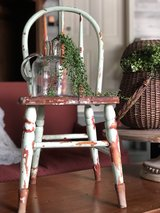 Vintage Farmhouse Child's Chair in St. Charles, Illinois