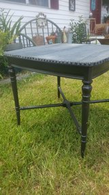 side table with denim top in Cleveland, Texas