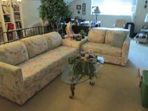 3 piece sectional and sofa table in Fort Lewis, Washington