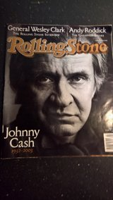 Rolling Stone Johnny Cash  1932-2003 in Ramstein, Germany