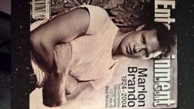 Entertainment Weekly  Marlon Brando  1924-2004 in Ramstein, Germany