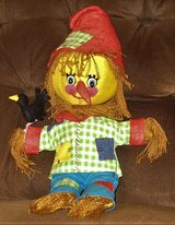 "Handmade Scarecrow Wizard of OZ Doll - Approx. 19"" High in Schaumburg, Illinois"