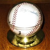 Autographed Baseball - Billy Williams, Andy Pafko, Bobby Thigpen , & ??? in Schaumburg, Illinois