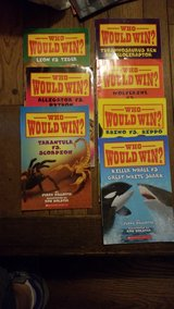 who would win books in Joliet, Illinois