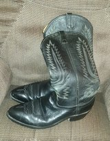 mens black cowboy boots in Alamogordo, New Mexico