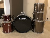 Tama Drum Kit - 7 piece in Conroe, Texas