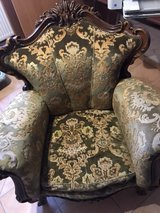 Heavy carved Rococo Style French Chippendale Chair in Spangdahlem, Germany