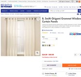 Cream Color Grommet Curtains in Springfield, Missouri