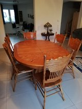 Dining Table & 6 chairs in Ramstein, Germany