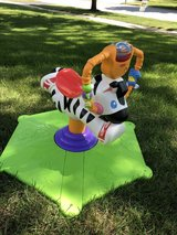 Fisher-Price Bounce & Spin Zebra in Chicago, Illinois