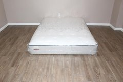 Queen Size Sealy Posturepedic Lakehurst Cooling plush Model mattress in Tomball, Texas