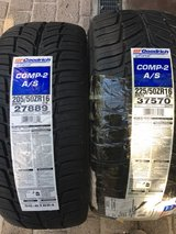 "BF Goodrich Comp 2 A/S 16"" Tires NEW in Stuttgart, GE"