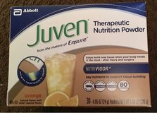 Juven Therapeutic Nutrition Powder- Orange Flavored- Tissue Building, Wound Healing in Bolingbrook, Illinois