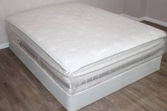 Queen Size Serta Mattress, Wincroft Model in Tomball, Texas