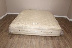 California King Stearns and Foster Rosemist Doublesided plush mattress in CyFair, Texas