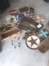 HUGE lot of rustic decor in Spring, Texas
