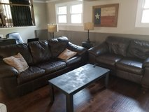 sleeper couch and love seat in DeKalb, Illinois